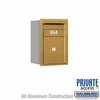 Salsbury 3706S-01GRP 4C Mailboxes 1 Tenant Doors Rear Loading