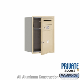 Salsbury 3706S-01SFP 4C Mailboxes 1 Tenant Doors Front Loading