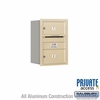 Salsbury 3706S-02SRP 4C Mailboxes 2 Tenant Doors Rear Loading