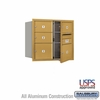 Salsbury 3707D-05GFU 4C Mailboxes 5 Tenant Doors Front Loading