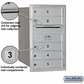Salsbury 3707S-05ARP 4C Mailboxes 5 Tenant Doors Rear Loading