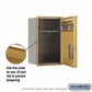 Salsbury 3707S-1PGFU 4C Mailboxes 1 Parcel Locker Front Loading