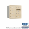 Salsbury 3708D-07SRP 4C Mailboxes 7 Tenant Doors Rear Loading