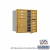 Salsbury 3708D-09GFU 4C Mailboxes 9 Tenant Doors Front Loading