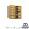 Salsbury 3708D-13GFU 4C Mailboxes 13 Tenant Doors Front Loading