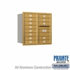 Salsbury 3708D-13GRP 4C Mailboxes 13 Tenant Doors Rear Loading