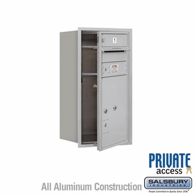 Salsbury 3708S-01AFP 4C Mailboxes 1 Tenant Doors Front Loading