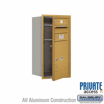 Salsbury 3708S-01GFP 4C Mailboxes 1 Tenant Doors Front Loading