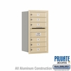 Salsbury 3708S-06SRP 4C Mailboxes 6 Tenant Doors Rear Loading