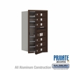 Salsbury 3708S-06ZFP 4C Mailboxes 6 Tenant Doors Front Loading