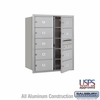 Salsbury 3710D-09AFU 4C Mailboxes 9 Tenant Doors Front Loading