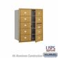 Salsbury 3710D-09GFU 4C Mailboxes 9 Tenant Doors Front Loading
