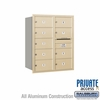 Salsbury 3710D-09SRP 4C Mailboxes 9 Tenant Doors Rear Loading
