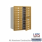 Salsbury 3710D-18GFU 4C Mailboxes 18 Tenant Doors Front Loading