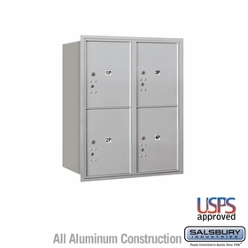Rear Loading Horizontal Parcel Lockers