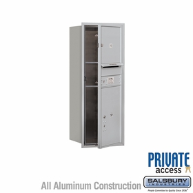 Salsbury 3710S-01AFP 4C Mailboxes 1 Tenant Doors Front Loading