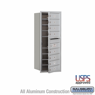 Salsbury 3710S-08AFU 4C Mailboxes 8 Tenant Doors Front Loading