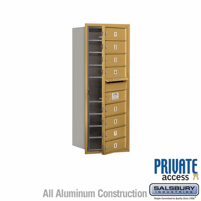 Salsbury 3710S-08GFP 4C Mailboxes 8 Tenant Doors Front Loading