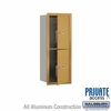 Salsbury 3710S-2PGFP 4C Mailboxes 2 Parcel Lockers Front Loading