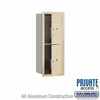 Salsbury 3710S-2PSFP 4C Mailboxes 2 Parcel Lockers Front Loading
