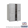 Salsbury 3711D-10AFU 4C Mailboxes 10 Tenant Doors Front Loading