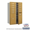 Salsbury 3712D-11GFU 4C Mailboxes 11 Tenant Doors Front Loading