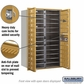 Salsbury 3713D-24GFP 4C Mailboxes 24 Tenant Doors Front Loading