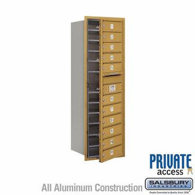 Salsbury 3713S-11GFP 4C Mailboxes 11 Tenant Doors Front Loading
