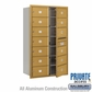Salsbury 3714D-13GFP 4C Mailboxes 13 Tenant Doors Front Loading