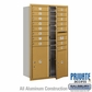 Salsbury 3714D-15GFP 4C Mailboxes 15 Tenant Doors Front Loading