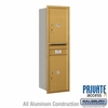 Salsbury 3714S-2PGRP 4C Mailboxes 2 Parcel Lockers Rear Loading