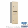 Salsbury 3714S-2PSRP 4C Mailboxes 2 Parcel Lockers Rear Loading