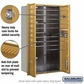 Salsbury 3715D-17GFP 4C Mailboxes 17 Tenant Doors Front Loading