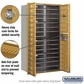 Salsbury 3715D-28GFP 4C Mailboxes 28 Tenant Doors Front Loading