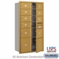 Salsbury 3716D-09GFU 4C Mailboxes 9 Tenant Doors Front Loading