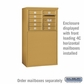 Salsbury 3905D-GLD Salsbury Free-Standing Enclosure - for 3705 Double Column Unit - Gold