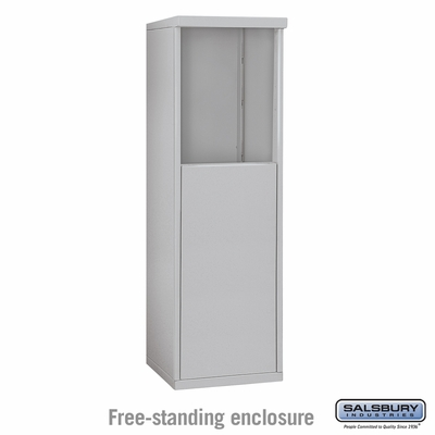 Salsbury 3905S Free-Standing Enclosure - for 3705 Single Column Unit