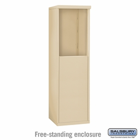 Salsbury 3906S-SAN Free-Standing Enclosure - for 3706 Single Column Unit - Sandstone
