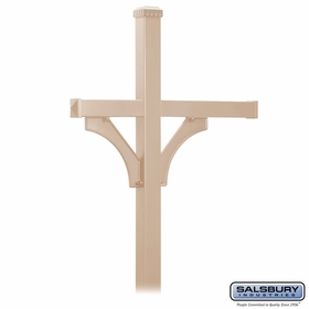 Salsbury Double Sided Deluxe Mailbox Posts for 3 Mailboxes