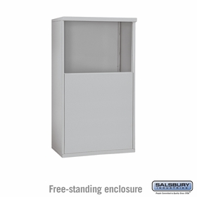 Salsbury 3905D Free-Standing Enclosure For 3705D 4C Mailboxes