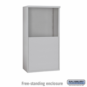 Salsbury 3907D Free-Standing Enclosure For 3707D 4C Mailboxes