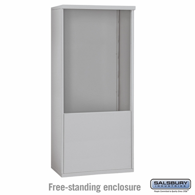 Salsbury 3911D Free-Standing Enclosure For 3711D 4C Mailboxes