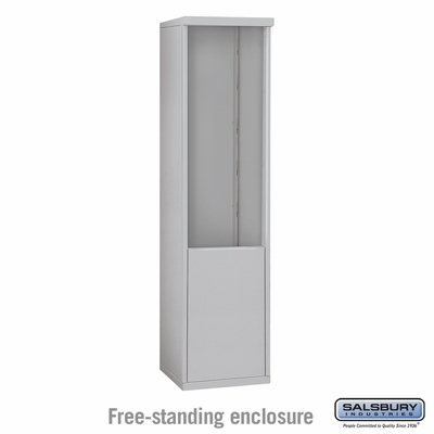 Salsbury Free-Standing Enclosure for 3711 Single Column Unit - Aluminum