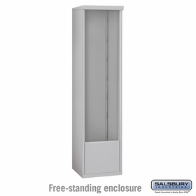 Salsbury 3915S Free-Standing Enclosure For 3715S 4C Mailboxes