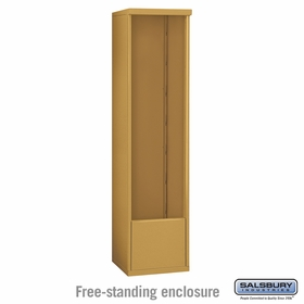 Salsbury 3915S-GLD Salsbury Free-Standing Enclosure - for 3715 Single Column Unit - Gold