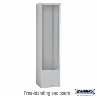 Salsbury 3916S Free-Standing Enclosure For 3716S 4C Mailboxes