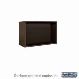 Salsbury Surface Mounted Enclosure for 3705 Double Column Unit - Bronze