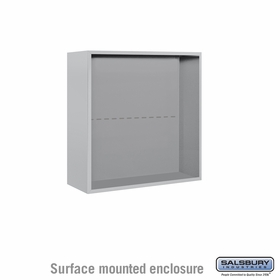 Salsbury 3807D Surface Mount Enclosure For 3707D 4C Mailboxes