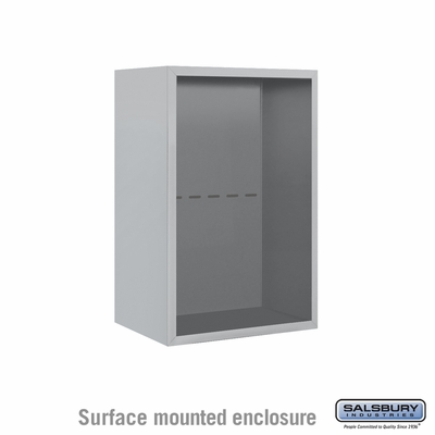 Salsbury 3807S Surface Mount Enclosure For 3707S 4C Mailboxes