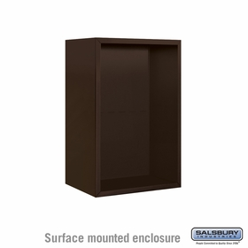 Salsbury Surface Mounted Enclosure for 3707 Single Column Unit - Bronze